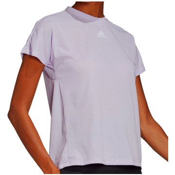 adidas T-ShirtsPleated Tee Women lila