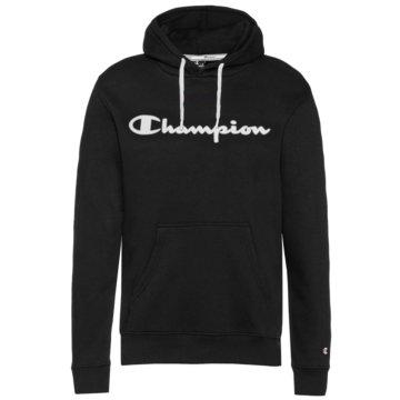 Champion HoodiesHooded Logo Fleece Sweatshirt schwarz