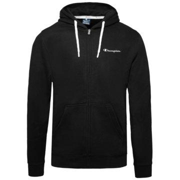Champion HoodiesHooded Logo Fleece Full Zip Sweatshirt schwarz