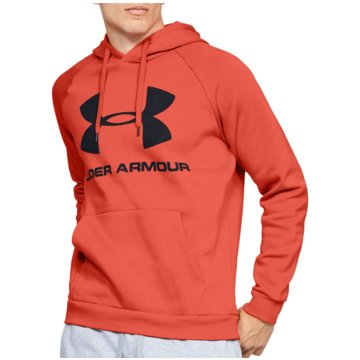 Under Armour SweatshirtsColdGear Rival Fleece Logo Hoodie rot