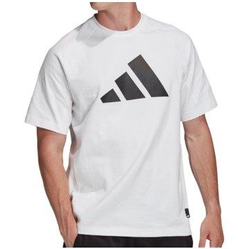 adidas T-ShirtsPack Heavy Tee weiß