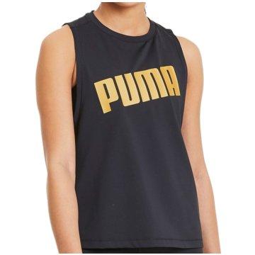 Puma TopsMetal Splash Adjustable Tank Top Women schwarz