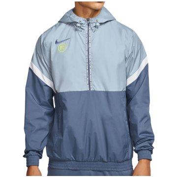 Nike ÜbergangsjackenF.C. Track Jacket blau