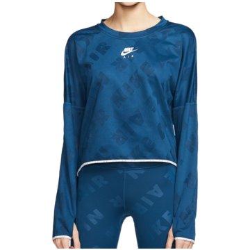 Nike SweatshirtsAir Running Midlayer Crop LS Women türkis