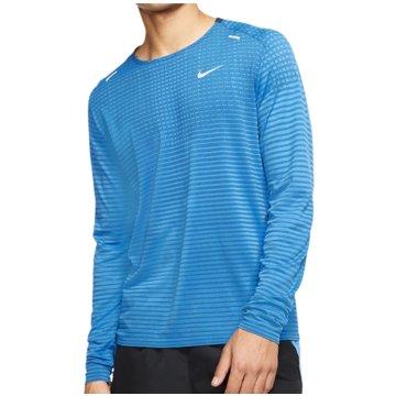 Nike SweatshirtsTechKnit Ultra LS blau