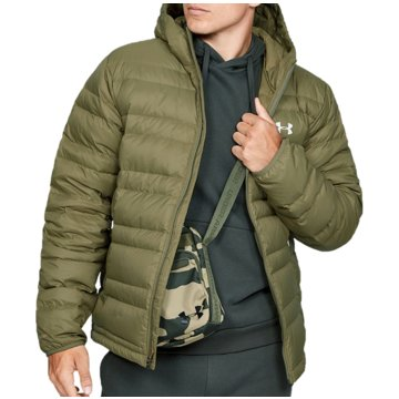 Under Armour TrainingsjackenStorm ColdGear Infrared Insulated Hooded Down Jacket grün