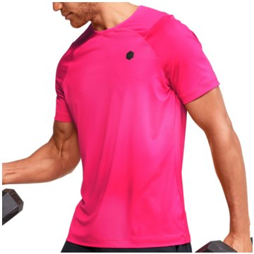 Under Armour FunktionsshirtsRUSH HG SEAMLESS COMPRESSION SS - 1351451 pink