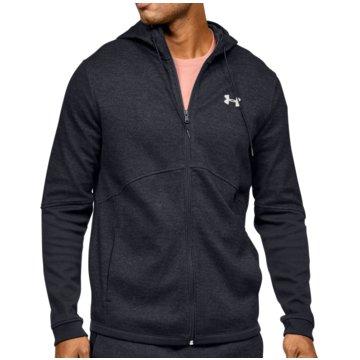 Under Armour SweatshirtsDouble Knit FZ Hoodie schwarz
