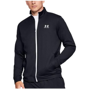 Under Armour SweatjackenATHLETE RECOVERY FLEECE FULL ZIP - 1348407 schwarz