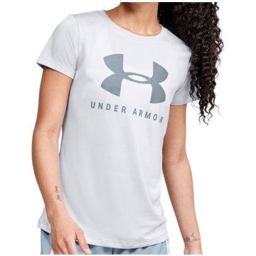 Under Armour T-ShirtsTech Logo Tee Women grau