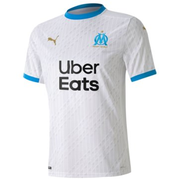 Puma Fan-TrikotsOlympique Marseille Home Shirt Replica 2020/2021 weiß