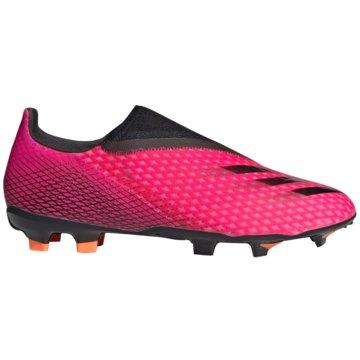 adidas Nocken-SohleX GHOSTED.3 LACELESS FG FUßBALLSCHUH - FW6968 pink