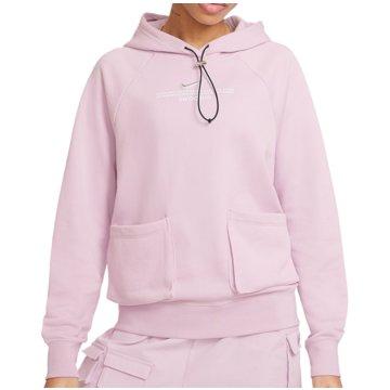 Nike HoodiesSPORTSWEAR SWOOSH - CZ8896-576 rosa