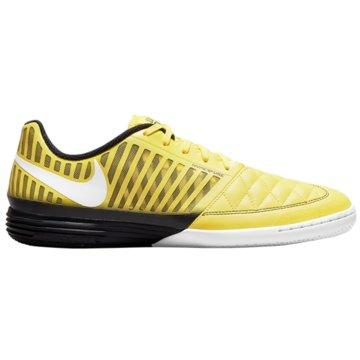 Nike Hallen-SohleLUNAR GATO II IC - 580456-710 gelb