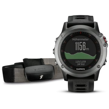 Garmin GPSfenix 3 Performer Bundle grau