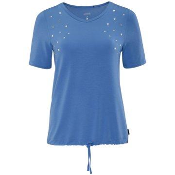 Schneider T-ShirtsLESSLYW-SHIRT - 3111 blau