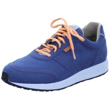 Lunge Sportlicher Schnürschuh blau