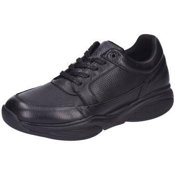 Xsensible Komfort Schnürschuh schwarz