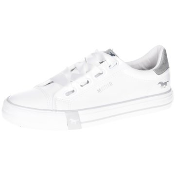 Mustang Sneaker Low weiß