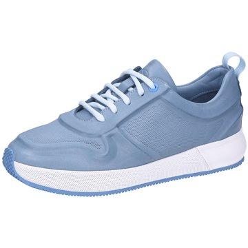 Only A Shoes Sportlicher Schnürschuh blau