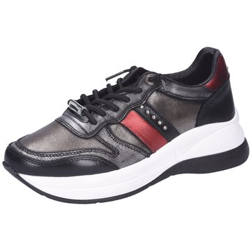 Cetti Plateau Sneaker schwarz