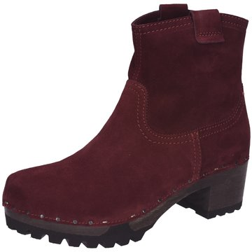 Softclox Plateau Stiefelette rot