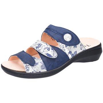 Think Komfort PantoletteCamilla blau