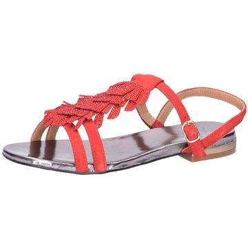 La Femme Plus Sandale rot