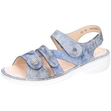 FinnComfort Komfort Sandale blau