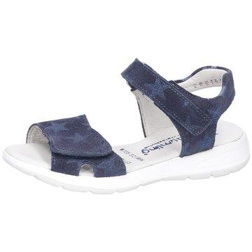 Däumling Offene SchuheCindy blau