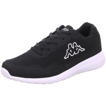 Kappa Sneaker LowAPOLLO schwarz