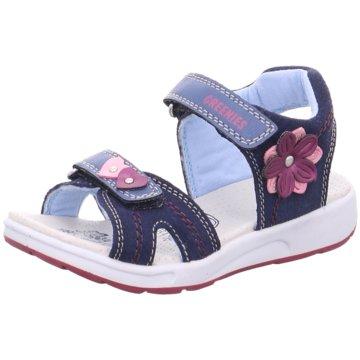 Greenies Offene Schuhe blau