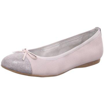 Tamaris Klassischer Ballerina grau