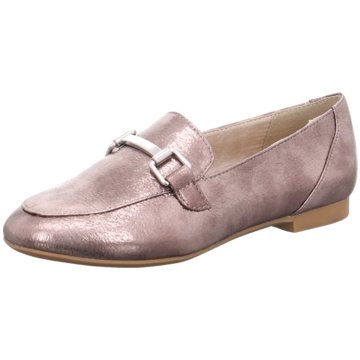 Marco Tozzi Business Slipper silber