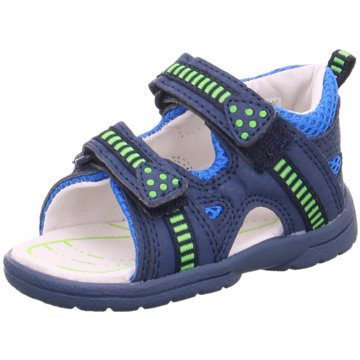 Brütting Sandale blau