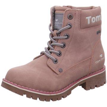 Tom Tailor Schnürstiefel rosa