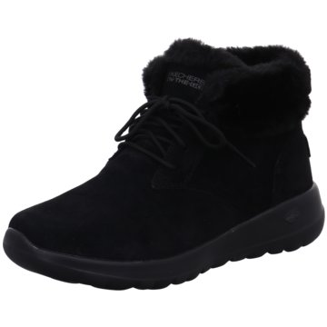 Skechers Komfort Stiefelette schwarz
