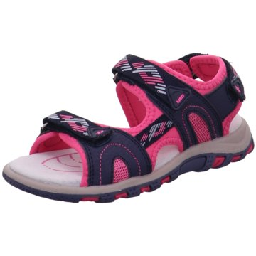 Geka Offene Schuhe pink