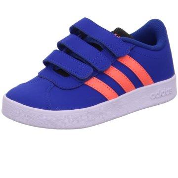 adidas Klettschuh blau