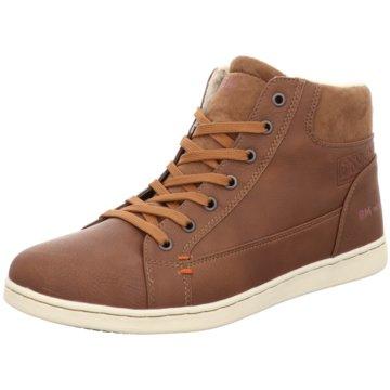 Supremo Sneaker High braun