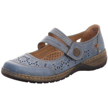 Supremo Komfort Slipper blau
