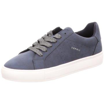 Esprit Sportlicher Schnürschuh blau