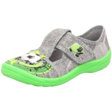 Fischer Schuhe KlettschuhFußball grau