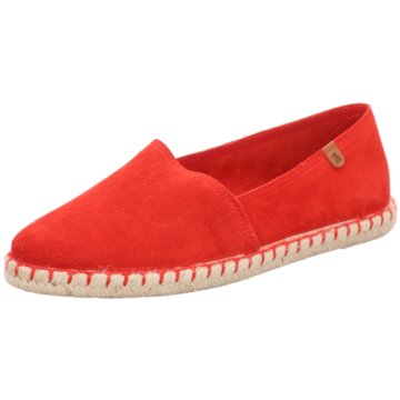 Mustang Espadrille rot
