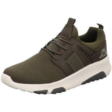 Kappa Sneaker Low grün
