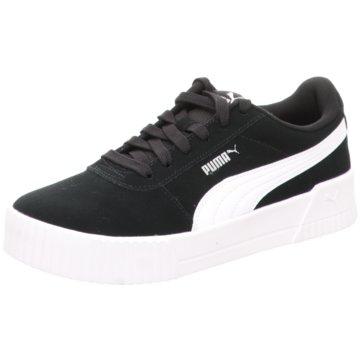 Puma Sneaker LowCarina Women schwarz