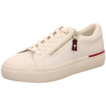 Tom Tailor Sneaker Low weiß