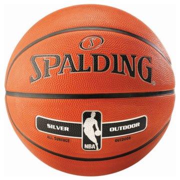 Spalding BasketbälleNBA SILVER OUTDOOR SZ.5  - 30015920015 orange
