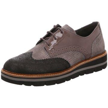 Gabor Eleganter SchnürschuhSneaker braun