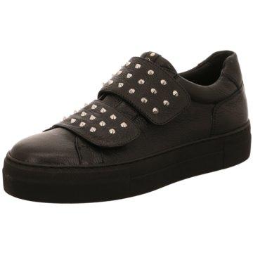 Donna Carolina Sportlicher SlipperSneaker schwarz